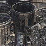 Oil petroleum barrel drum — Stock Photo #52729197
