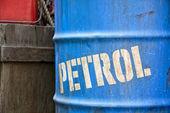 Oil petroleum barrel drum — Stock Photo
