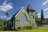 Hawaian christian church — Stock Photo