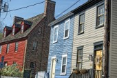 Annapolis Maryland historical houses — Stock Photo