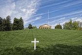 JFK Memorial at Arlington Cemetery — Stock Photo