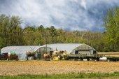 Farm in maryland — Stock Photo