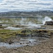 Little Geyser in Iceland while blowing water — Stock Photo #54521149