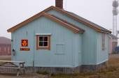 Ny alesund post office in Spitzbergen Norway — Foto de Stock