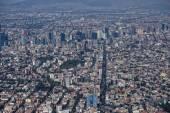 Mexico city aerial — Stock Photo