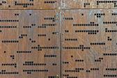Morse code wall — Foto de Stock