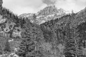 Dolomites Pordoi Mountain Alps Huge view — Foto Stock