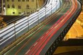 Genoa Flyover at night — Stock Photo