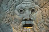 Mouth of truth in rome — Stock Photo