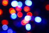 Xmas background street lights glam — Stock Photo