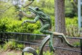 Frog statue — Foto Stock