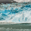 Hubbard Glacier while melting in Alaska — Stock Photo #70236681