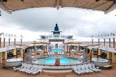 Alaska cruise ship deck — Stock Photo