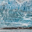 Hubbard Glacier while melting in Alaska — Stock Photo #70739157