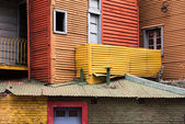 La boca painted house in Buenos Aires — Stock Photo