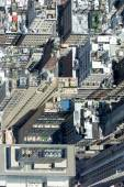 NEW YORK - USA - 13 JUNE 2015 manhattan aerial view from freedom tower — Stock Photo