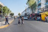 Mexico City, Meksika - Şubat, 9 2015 - zavallı çocuk sokakta — Stok fotoğraf