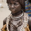 Woman from Hamer tribe — Stock Photo #63280469