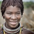Unidentified Hamer tribe woman — Stock Photo #66057551