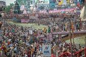 Har Ki Paur Ghat in haridwar during Kunbh Mela — Стоковое фото