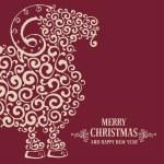Christmas greeting card — Stock Vector #54745021