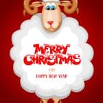 Christmas greeting card — Stock Vector #54745033