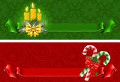 Christmas banners — Stockvektor