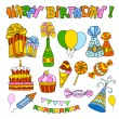 Happy Birthday — Stock Vector #57834707
