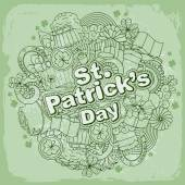 Saint Patricks Day — Stock Vector