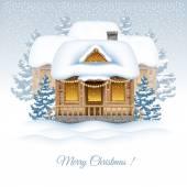 Christmas holiday — Stock Vector