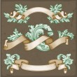 Vintage ribbons — Stock Vector #61526845