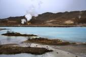 Bjarnarflag Geothermal Power Station - Iceland — Stock Photo