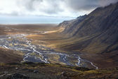 Iceland - Desolate Landscape near Vatnajokull — Stock Photo