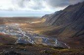 Iceland - Desolate Landscape near Vatnajokull — Stock Photo