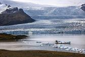 Fjallsjokull Glacier - Iceland — Stockfoto