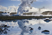 Svartsengi Geothermal Power Station - Iceland — Stock Photo