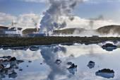 Svartsengi Geothermal Power Station - Iceland — Stock Photo