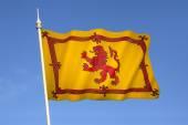 Scotland - Lion Rampant Flag — Stock Photo