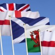 Flag of the United Kingdom — Stock Photo #54050023