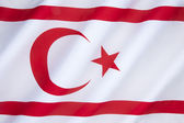 Flag of the Turkish Republic of Northern Cyprus — Stock Photo