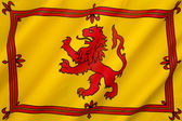 Royal Banner of the Royal Arms of Scotland — Stock Photo