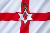 Flag of Northern Ireland - United Kingdom — Stock Photo