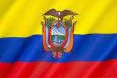 Flag of Ecuador — Stock Photo