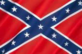 Flag of the Confederate States of America — Stock Photo
