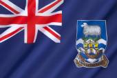 Flag of the Falkland Islands — Stock Photo