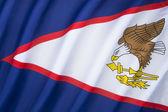 Флаг Американского Самоа — Стоковое фото