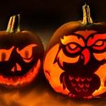Постер, плакат: Halloween Spooky Pumpkins