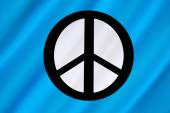 Campaign for Nuclear Disarmament - CND Flag — Foto Stock