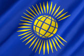 Flag of the Commonwealth of Nations — Stock Photo