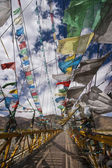 Prayer Flags - Tibet - China — Zdjęcie stockowe
